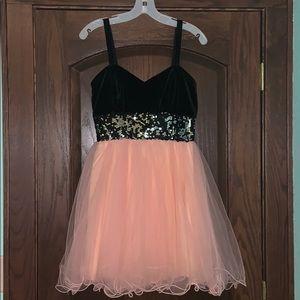 Dresses & Skirts - Black and pink tulle formal dress